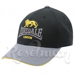 Кепка Lonsdale TT Cap Junior black/yellow
