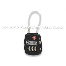 Tactical Luggage Lock, чёрный