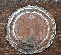 Наградная тарелка с посеребрением, за 1 место