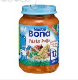 Bona паста Полло, с 12 мес. 200г / Pasta Pollo