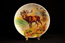 Тарелка декоративная, роспись