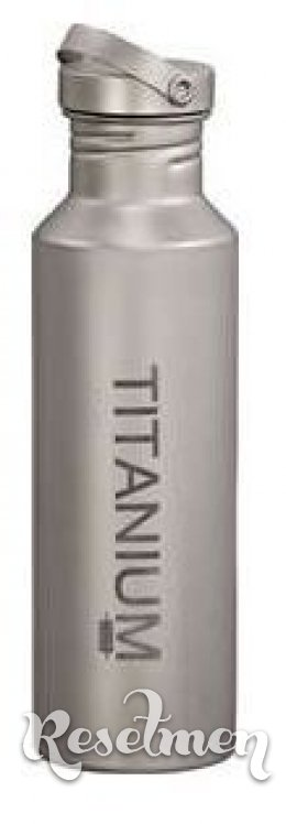 Vargo - Water Bottle w/Titanium Lid