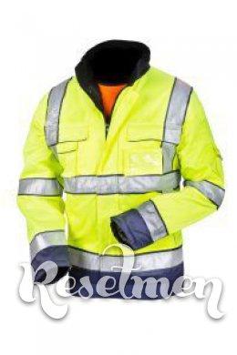 Утепленная светоотражающая куртка