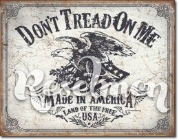 Жестяная вывеска Tin Sign - DTOM Land of the Free