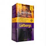Кофе Lofbergs Lila Jubileum темной обжарки крупный помол 500г