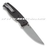 EnZo Birk 75, S30V Scandi, carbon fiber