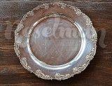 Тарелка с посеребрением