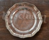 Тарелка с посеребрением, made in sweden
