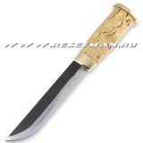 Kauhavan Puukkopaja Leuku knife, карельская берёза