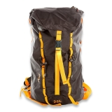 Retki Ultralight Backpack Black/Orange