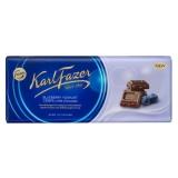 Молочный шоколад Fazer с крошкой из черничного йогурта 190 гр