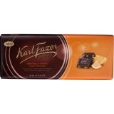 Шоколад Karl Fazer темный со вкусом апельсина и криспами 200 гр