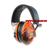 Sordin - Supreme Pro X Led headband, оранжевый camo