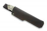 Нож EnZo Trapper 115, Full Flat, G-10, коричневый