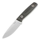 Нож TRC Knives XS Splinter Deluxe M390, чёрный