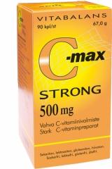 Витамины С, C-Max Strong Vitabalans