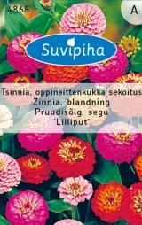 """Семена цветов Цинния """"Lilliput"""" 1,5 гр"""