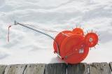 Устройство для протяжки сетей под льдом