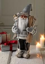 Санта-Клаус HERVARD 41cm белый