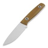 Нож TRC Knives Classic Freedom, natural canvas micarta