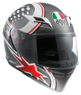 AGV Skyline Psycho white/red