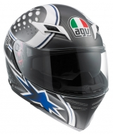 AGV Skyline Psycho white/blue