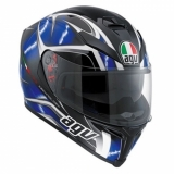 AGV Helmet K-5 S Hurricane black/blue/white