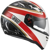 AGV Skyline Wings white/black/red