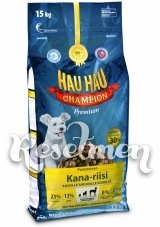 Hau-Hau Champion Chicken  Сухой корм для Собак с курицей и рисом