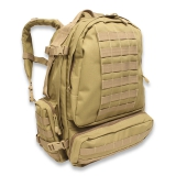 Extreme modular back pack, coyote tan