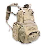 Modular Back Pack Molle system, coyote tan