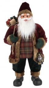 Санта-Клаус с сумкой для подарка HRYM 80cm