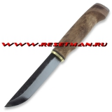WoodsKnife Perinnepuukko 125, stained