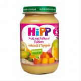 Hipp фрукты и злаки, с 6мес. 190г / Hedelmää ja täysjyvää