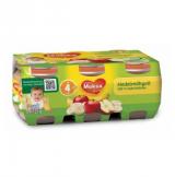 Muksu банан с яблоком, с 4 мес. 6шт. 125г / hedelmähyvä