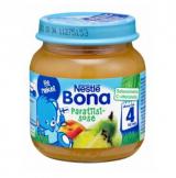 Bona груша, персик, ананас, с 4 мес. 125г / Paratiisisose
