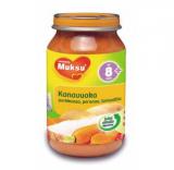 Muksu запеканка овощи с курицей, с 8 мес. 200г / kanavuoka -porkkanaa, perunaa, tomaattia
