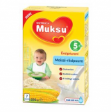 Muksu кукурузно-рисовая молочная каша, 5 мес. 200г / maissi-riisipuurojauhe