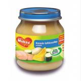 Muksu лосось с овощами, с 6 мес. 125г / kasvis-lohivuoka soseena