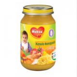Muksu макароны с овощами и курицей, с 8 мес. 200г / kasvis-kanapasta