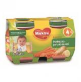 Muksu морковь и картофель, с 4 мес. 2 шт. 125г / porkkana-perunamuusi