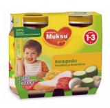 Muksu овощи с макаронами и курицей, 1-3 года 2шт. 200г / kanapasta, kasviksia ja kananlihaa