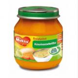 Muksu овощной суп, с 5 мес. 125г / kasvissosekeitto