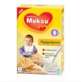 Muksu овсяная цельнозерновая молочная каша, 8 мес. 200г / täysjyväpuurojauhe