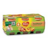 Muksu персик, с 4 мес. 6шт. 125г / persikkasose