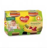 Muksu яблоко, манго и банан, с 4 мес. 2шт. 125г / mangoyllätys