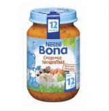 Bona кус-кус с говядиной, с 12 мес. 200г / Couscousia ja naudanlihaa