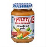 Piltti Pohjoisen maut лосось с овощами, 1-3 года 200г / Kalastajan pata