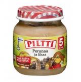 Piltti картофель с говядиной, с 5 мес. 125г / Perunaa ja lihaa