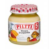 Piltti манго с йогуртом, с 5 мес. 125г / Mangoa ja jogurttia